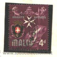 Sellos: MALTA 1965 - YVERT NRO. 309 - USADO. Lote 44262949