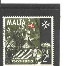 Sellos: MALTA 1965 - YVERT NRO. 325 - USADO. Lote 44262963