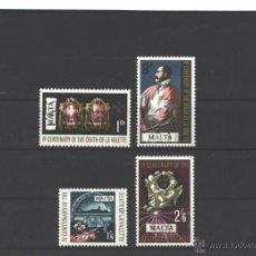 Sellos: MALTA 1968 - YVERT NRO. 378-81 - NUEVOS - GOMA MOTEADA. Lote 44263062