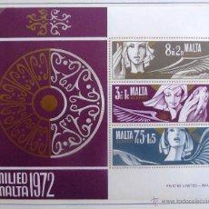 Sellos: HB MALTA 1972. NUEVA. NAVIDAD.. Lote 48812016