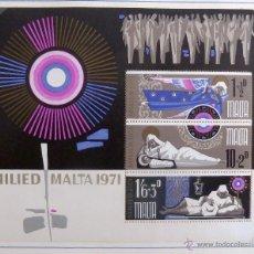 Sellos: HB MALTA 1971. NUEVA. NAVIDAD.. Lote 48812052