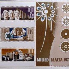Sellos: HB MALTA 1973. NUEVA. NAVIDAD.. Lote 48812594