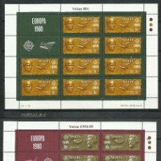 Sellos: MALTA - 1980 - SCOTT 575/576** MNH - B10. Lote 155870400