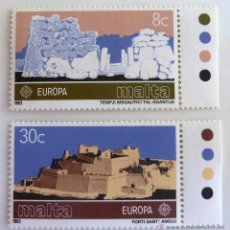 Sellos: SELLOS MALTA 1983. NUEVOS. YVERT 668-669. EUROPA.. Lote 49951481
