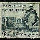 Sellos: MALTA 1956- YV 0247. Lote 160609232