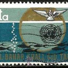 Sellos: MALTA 1969- YV 0392. Lote 53091460