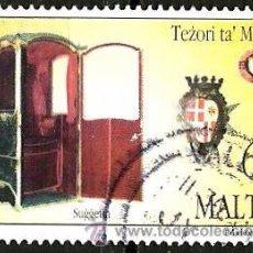 Sellos: MALTA 1997- YV 0984. Lote 53091736