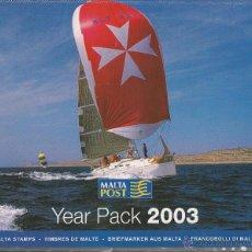 Sellos: MALTA 2003 - YEAR PACK 2003. Lote 53129788