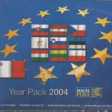 Sellos: MALTA 2004 - YEAR PACK. Lote 53129804