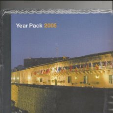 Sellos: MALTA 2005 - YEAR PACK 2005. Lote 53129816