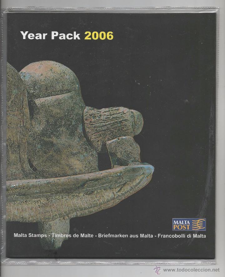 MALTA 2006 - YEAR PACK 2006 (Sellos - Extranjero - Europa - Malta)