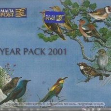 Sellos: MALTA 2001 - YEAR PACK 2001. Lote 53129940