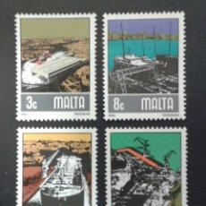 Sellos: SELLOS DE MALTA. YVERT 643/6. SERIE COMPLETA NUEVA SIN CHARNELA.. Lote 55145474