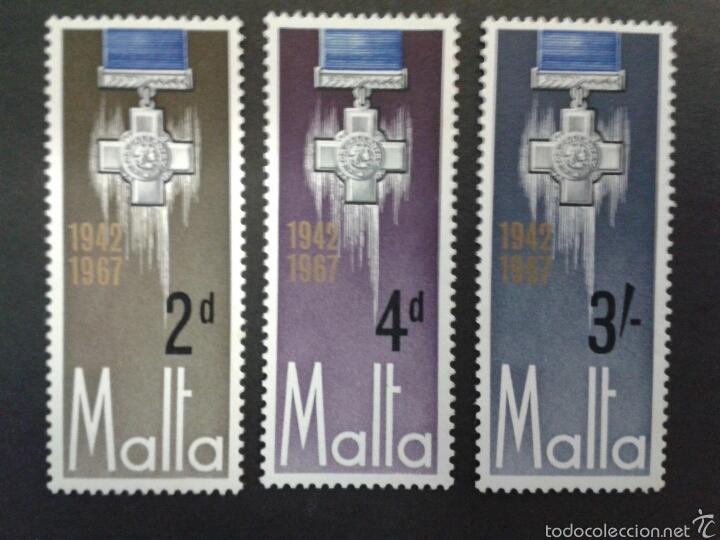 SELLOS DE MALTA. YVERT 352/4. SERIE COMPLETA NUEVA SIN CHARNELA. (Sellos - Extranjero - Europa - Malta)