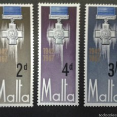 Sellos: SELLOS DE MALTA. YVERT 352/4. SERIE COMPLETA NUEVA SIN CHARNELA. . Lote 55145568