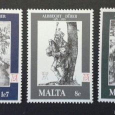 Sellos: SELLOS DE MALTA. YVERT 561/3. SERIE COMPLETA NUEVA SIN CHARNELA.. Lote 55145629