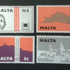 Sellos: SELLOS DE MALTA. YVERT 509/12. SERIE COMPLETA NUEVA SIN CHARNELA.. Lote 55145695