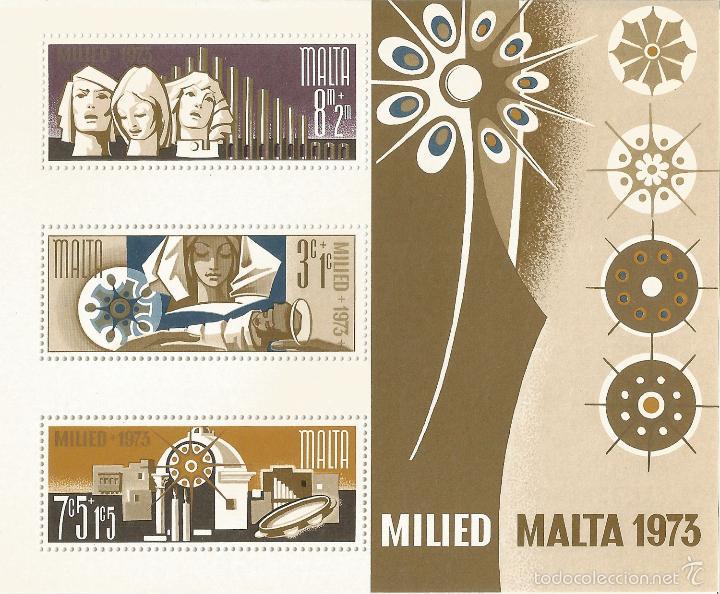 MALTA – 1973 – NAVIDAD – SERIE COMPLETA (1V) – NR. YVERT: B3 (Sellos - Extranjero - Europa - Malta)