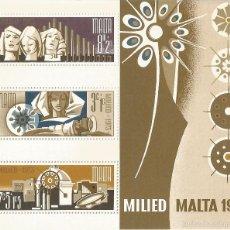 Sellos: MALTA – 1973 – NAVIDAD – SERIE COMPLETA (1V) – NR. YVERT: B3. Lote 57037262
