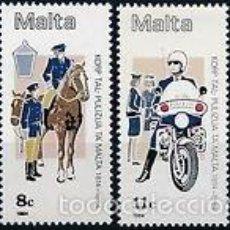 Sellos: MALTA 1984 IVERT 687/90 *** 170º ANIVERSARIO DE LAS FUERZAS DE POLICÍA. Lote 57544858