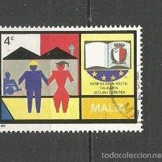 Sellos: MALTA YVERT NUM. 802 USADO. Lote 58268019