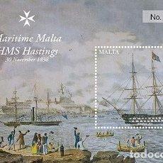 Sellos: MALTA 2016 - MARITIME MALTA - SERIES IV SOUVENIR SHEET MNH. Lote 62009392
