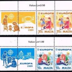 Sellos: 1989 MALTA TEMA EUROPA MNH**. Lote 69001801
