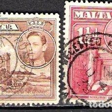Sellos: MALTA 1938 - USADO. Lote 99343651