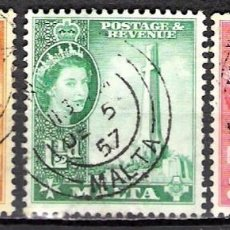 Sellos: MALTA 1956 - USADO. Lote 99343763