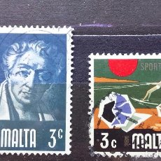 Sellos: MALTA - SELLOS USADOS. Lote 100379539