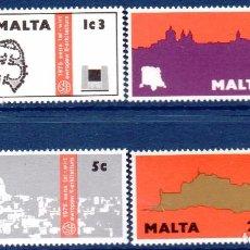 Timbres: MALTA.- CATÁLOGO YVERT Nº 509/12, SERIE COMPLETA EN NUEVOS. Lote 100711943