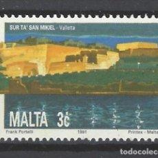 Sellos: MALTA - SELLO USADO. Lote 105894635