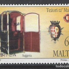 Sellos: MALTA - SELLO USADO. Lote 105895151
