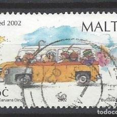 Sellos: MALTA - SELLO USADO. Lote 105895935