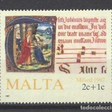 Sellos: MALTA - SELLO USADO. Lote 105900403