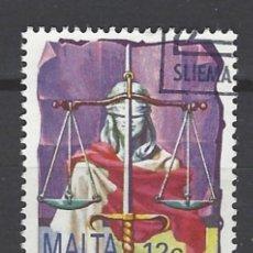 Sellos: MALTA - SELLO USADO. Lote 105901515