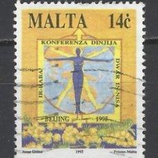 Sellos: MALTA - SELLO USADO. Lote 105901739