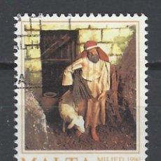 Sellos: MALTA - SELLO USADO. Lote 105903531