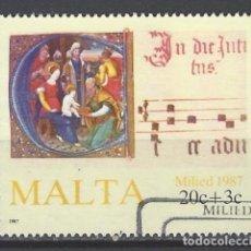 Sellos: MALTA - SELLO USADO. Lote 105905135