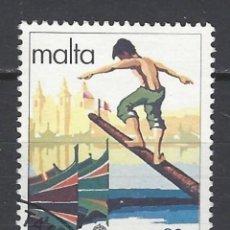 Sellos: MALTA - SELLO USADO. Lote 106059927