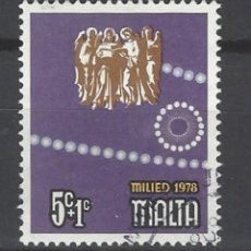Sellos: MALTA - SELLO USADO. Lote 106065647