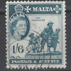 Sellos: MALTA - COLONIA BRITÁNICA - SELLO USADO . Lote 106068067
