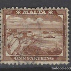 Sellos: MALTA - COLONIA BRITÁNICA - SELLO USADO . Lote 106068139