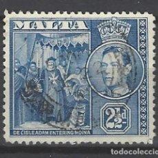 Sellos: MALTA - COLONIA BRITÁNICA - SELLO USADO . Lote 106068171