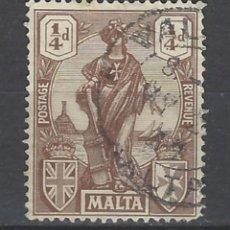 Sellos: MALTA - COLONIA BRITÁNICA - SELLO USADO . Lote 106068231