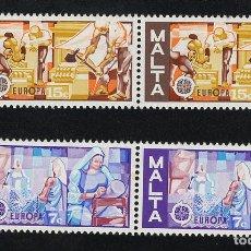 Sellos: MALTA 1976 ** - EUROPA CEPT. Lote 107422380