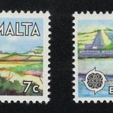 Sellos: MALTA 1977 ** - EUROPA CEPT. Lote 107422384