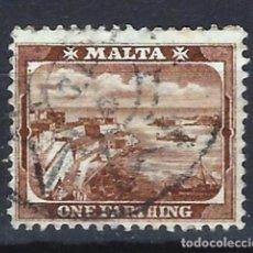 Sellos: MALTA - COLONIA BRITÁNICA - SELLO USADO . Lote 120358743