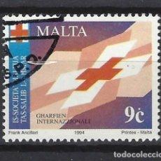 Sellos: MALTA - SELLO USADO. Lote 120359011