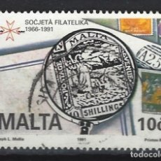 Sellos: MALTA - SELLO USADO. Lote 120359159